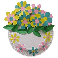 Flower Basket - Kids Crafts