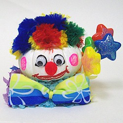 Mini Pumpkin Clown - Kids Crafts