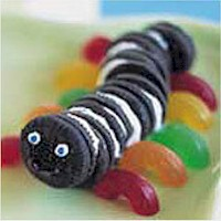 Mini Oreo Inchworm - Kids Crafts