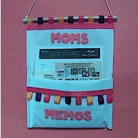 Mothers Note Holder - Kids Crafts