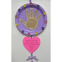 Mother's Day Handprint Poem Craft