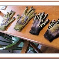 Monster Gloves Craft