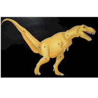 T-Rex Moveable Puppet - Kids Crafts