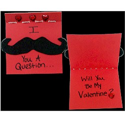 Mustache Card Craft