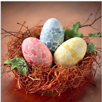 All Naturale Mosaic Eggs Craft