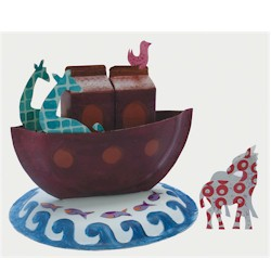 Paper Plate Noahs Ark - Kids Crafts