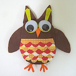 Ollie the Owl - Kids Crafts