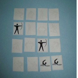 Olympic Memory Game - Kids Crafts