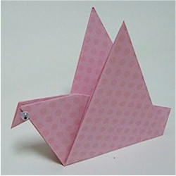 Origami Bird - Kids Crafts
