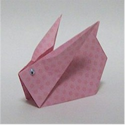 Origami Bunny - Kids Crafts