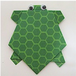 Origami Turtle Craft