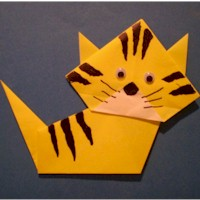 Origami Kitty - Kids Crafts