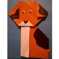 Origami Spotted Puppy Craft