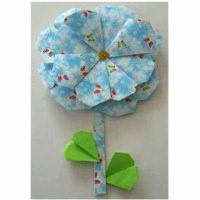 Origami Flower - Kids Crafts
