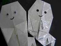 Origami Ghost - Kids Crafts