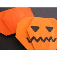 Origami Pumpkin - Kids Crafts