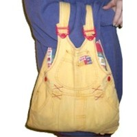 Recycled Overalls Bag Craft