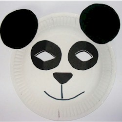 Panda Mask - Kids Crafts