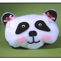 Panda Pajama Pillow - Kids Crafts