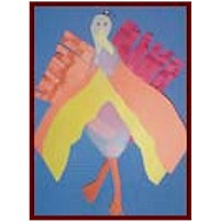 Pantyhose Turkey - Kids Crafts