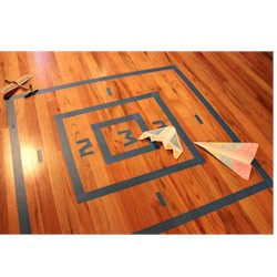 Paper Airplane Target - Kids Crafts