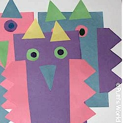 Paper Owls - Kids Crafts