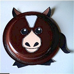 Paper Plate Horse - Kids Crafts