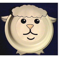 Paper Plate Lamb - Kids Crafts