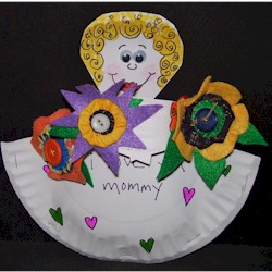 Mothers Day Basket Craft