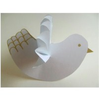 Paper Dove - Kids Crafts