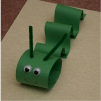 Paper Inchworm - Kids Crafts