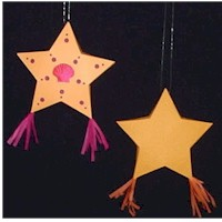 Paper Parol Star - Kids Crafts