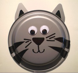 Paper Plate Kitten Craft