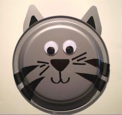 Paper Plate Kitten Craft