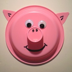 Paper Plate Pig - Kids Crafts