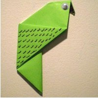 Origami Parakeet - Kids Crafts