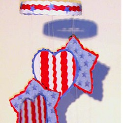 Patriotic Mobile - Kids Crafts