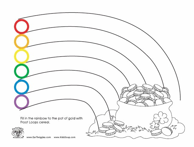 Nifty image intended for fruit loop rainbow printable template