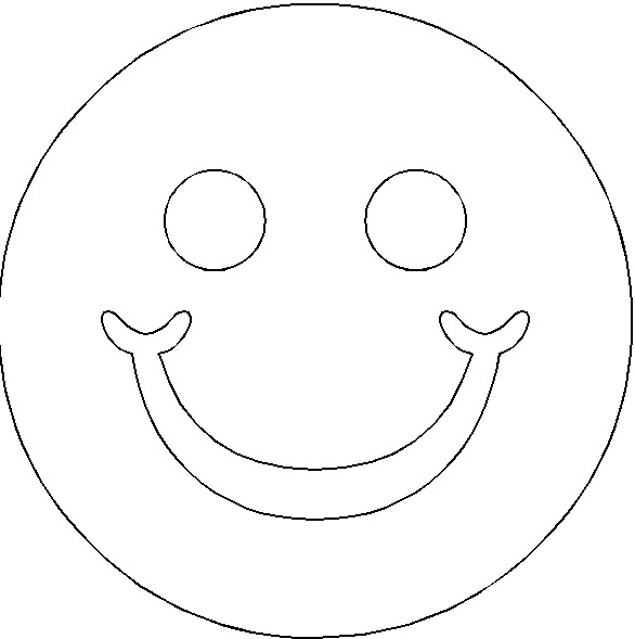 images of free smiley face pattern calto