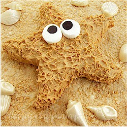 Peanut Butter Fudge Starfish - Kids Crafts