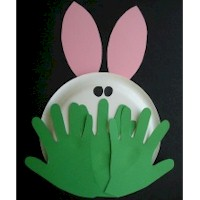 Peeking Bunny  Craft