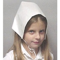 Pilgrim Bonnet - Kids Crafts