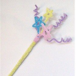 Pipe Cleaner Magic Wand Craft
