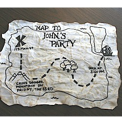 Pirate Party Invitation - Kids Crafts