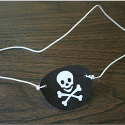 Pirate Eye Patch by Free Kids Crafts