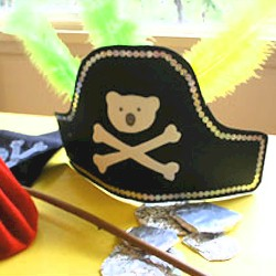 Pirate Hat - Kids Crafts