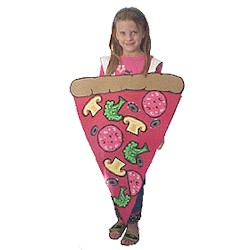 Pizza Costume - Kids Crafts