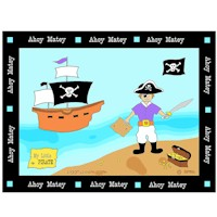 Pirate Placemat - Kids Crafts