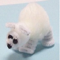 Pom Pom Polar Bear - Kids Crafts