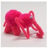 Pom Pom Elephant - Kids Crafts